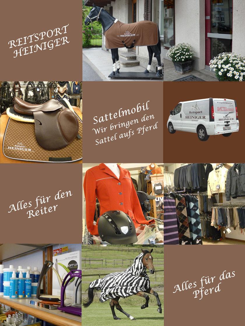 Reitsport Heiniger - Foto Ladenbesichtigung