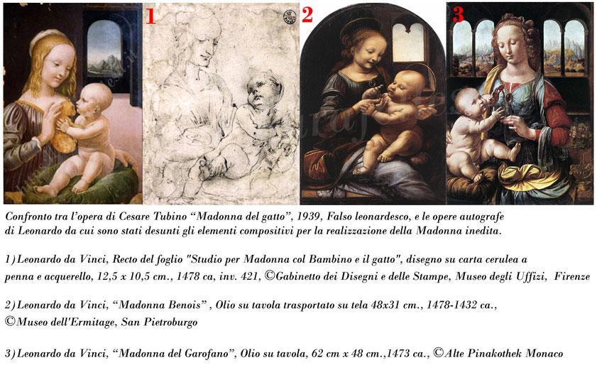 Falso Leonardo_Confronto opere