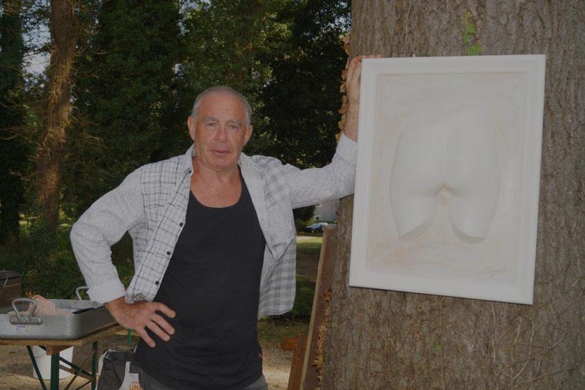 Alain Souchet a réalisé une Fanny pour l'Amicale Bouliste Dormaniste.
