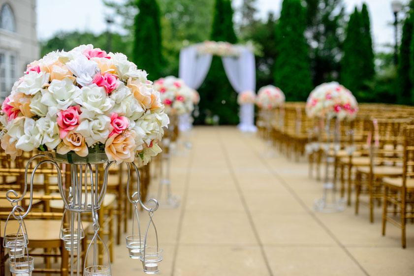 Les Coins Heureux wedding planner Paris et France décoration cérémonie mariage chic
