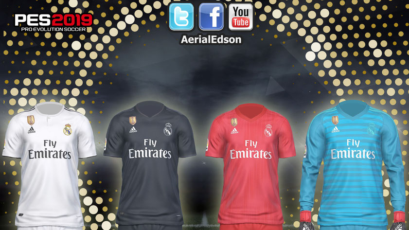 7331168f8 Descarga los nuevos kits del Real Madrid para la temporada 18 19. Espero  les guste. Saludos!