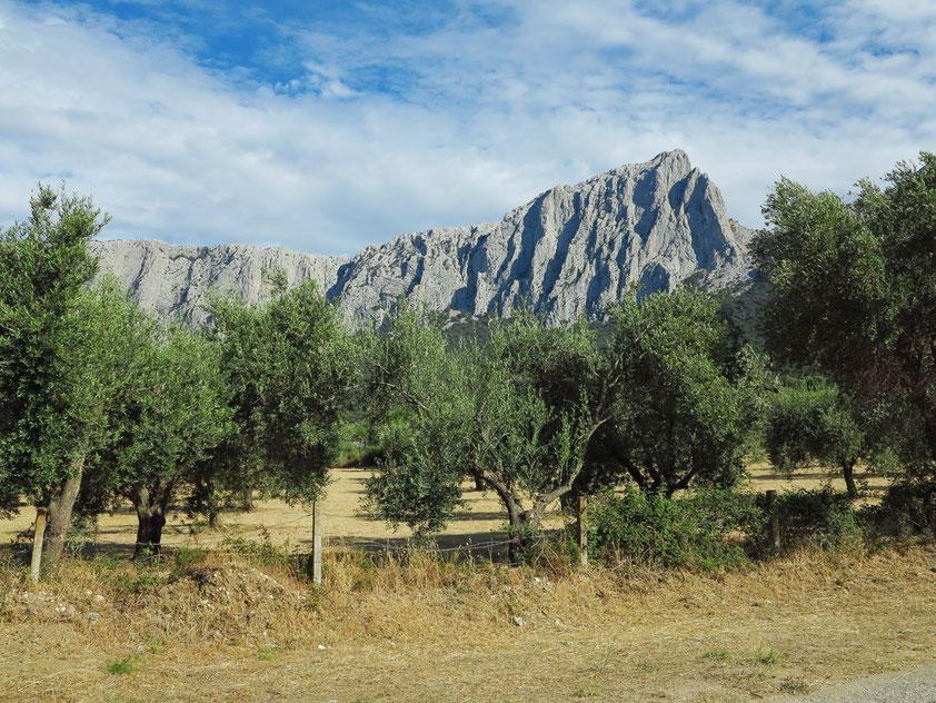 Kalksteingebirge bei Su Gologone