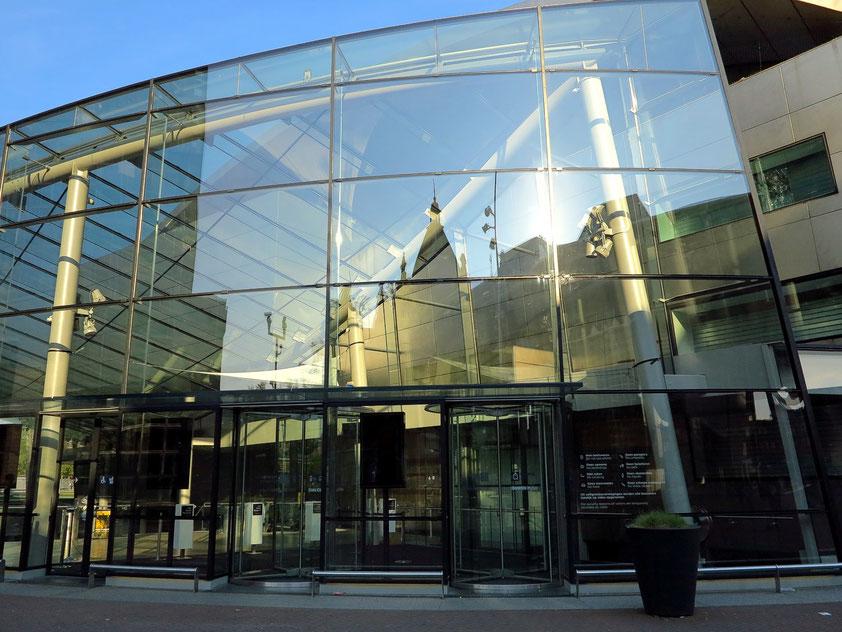 Van Gogh Museum. Ergänzungsbau des japanischen Architekten Kishō Kurokawa