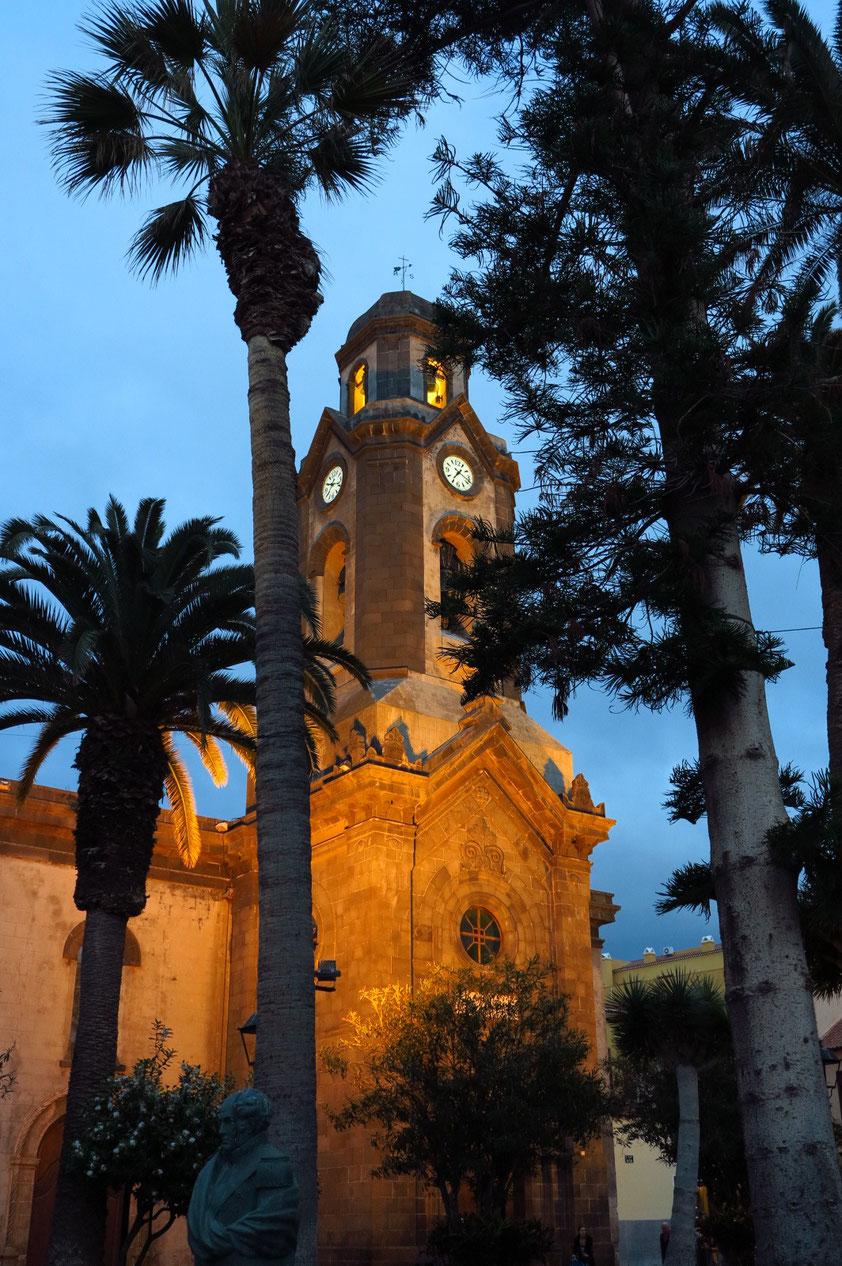 Puerto de la Cruz, Pfarrkirche Nuestra Senora de la Pena de Francia