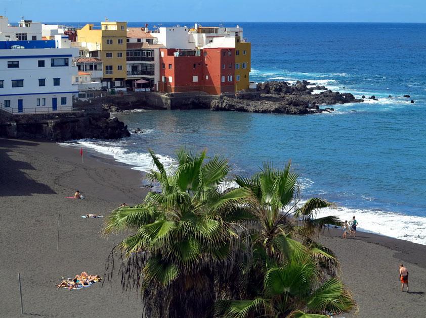 Playa Maria Jiménez und Fischerdorf Punta Brava