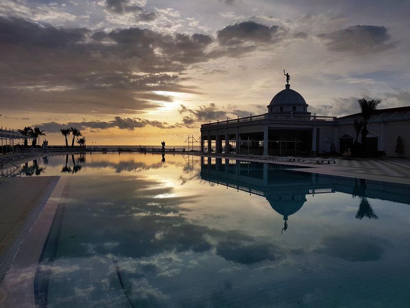 Resort Kaya Artemis bei Sonnenaufgang