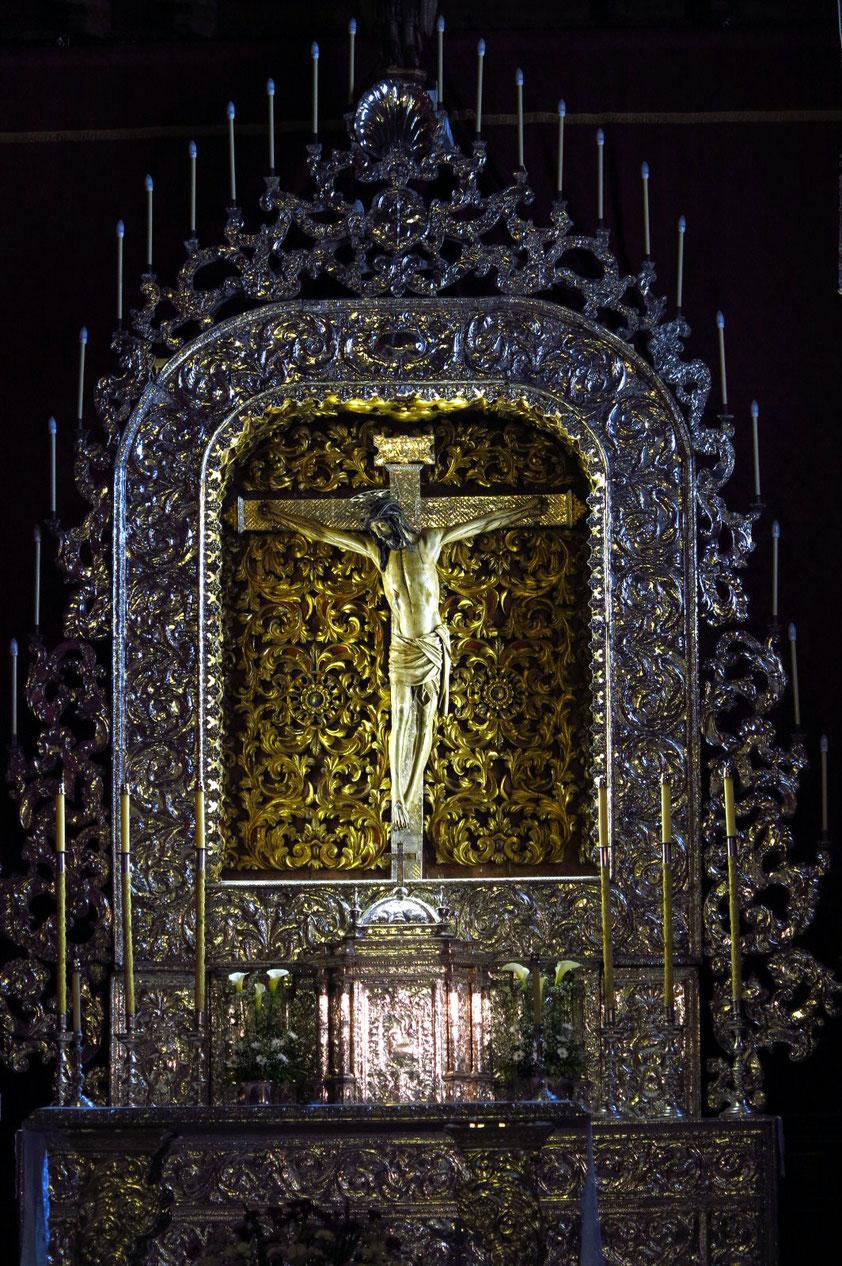 La Laguna, Santísimo Crísto in der Kirche San Francisco