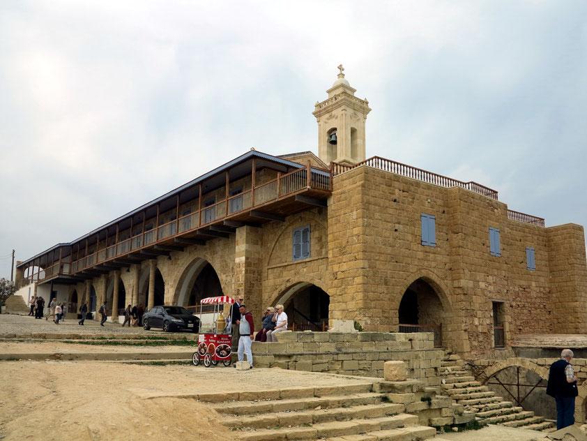 Das Andreas-Kloster ist einer der wichtigsten Wallfahrtsorte der zypriotisch-orthodoxen Kirche und war als das Lourdes von Zypern international bekannt.