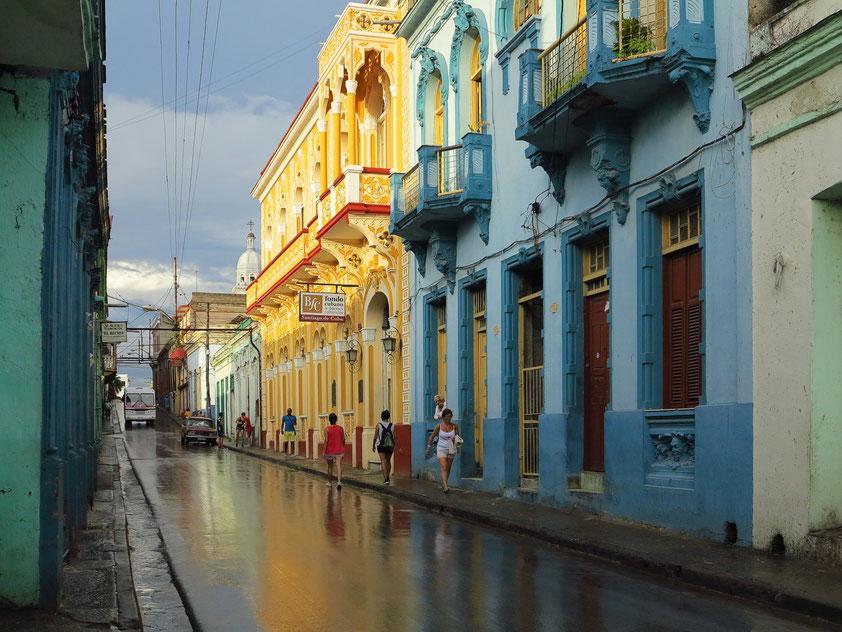 Santiago de Cuba, Calle Santo Tomás (Blick nach Norden)