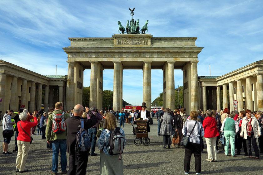 Brandenburger Tor, vom Pariser Platz aus gesehen