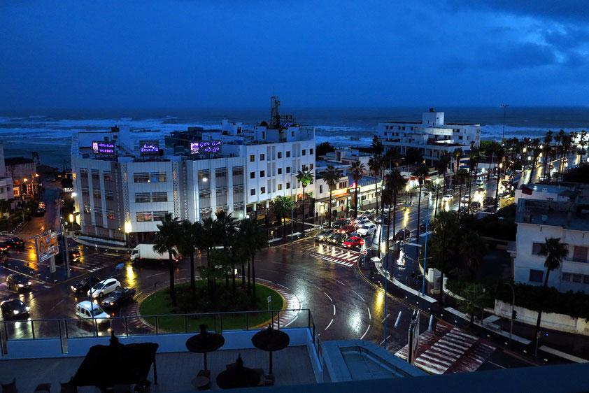 Casablanca. Abenddämmerung
