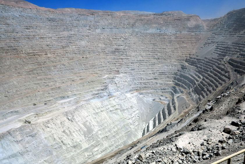 Chuquicamata, die größte Kupfermine der Welt
