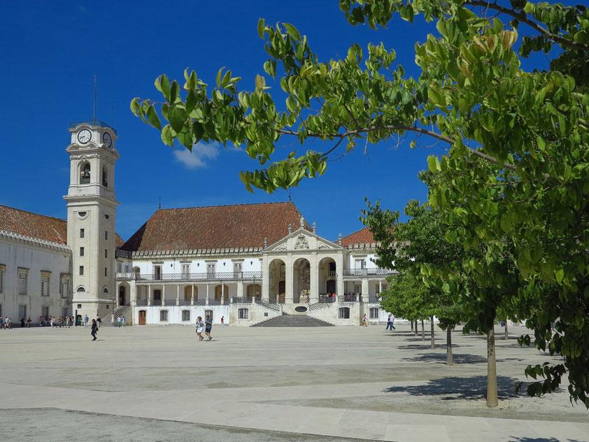 Historisches Gebäude der Universität Coimbra, gegründet 1290