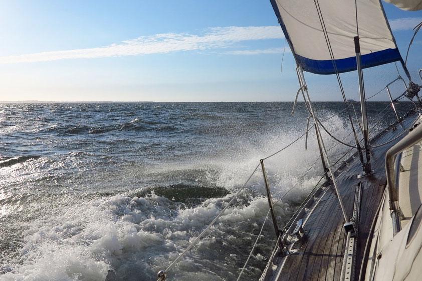 """Nach Vlieland mit Kurs """"Hart am Wind"""""""