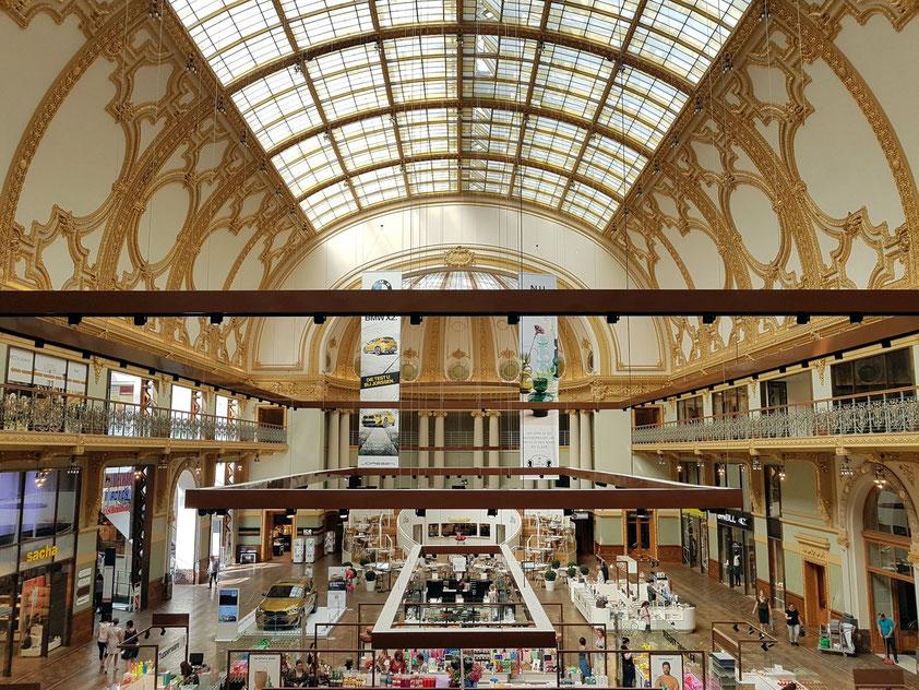 Antwerpen, Einkaufszentrum Stadsfeestzaal, neoklassizistisches Gebäude 1908