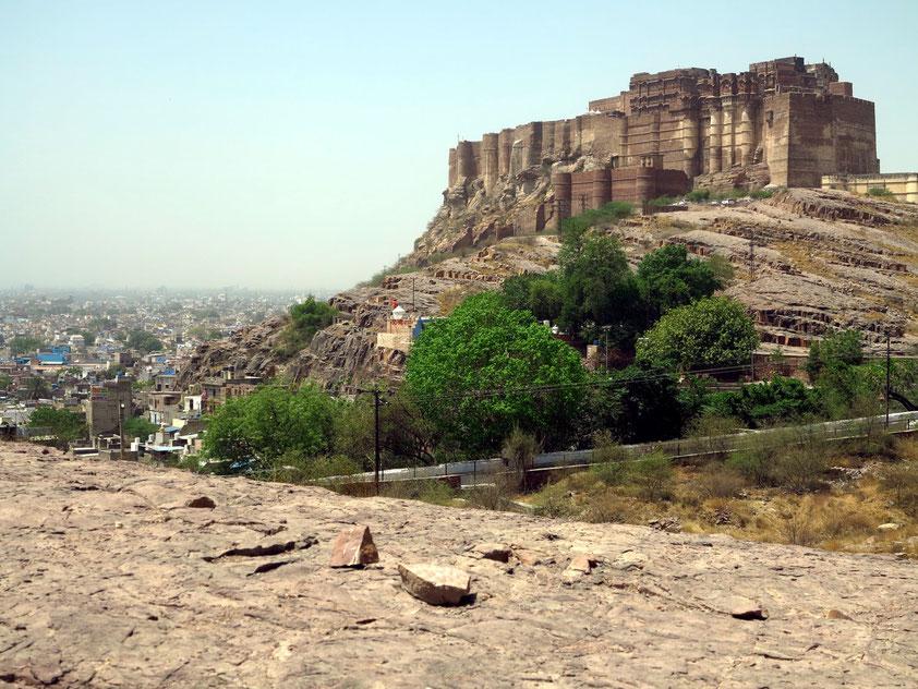 Mehrangarh Fort über Jodhpur