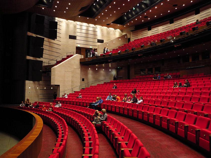 Neues Slowakisches Nationaltheater, Zuschauerraum (Opern- und Ballettsaal)