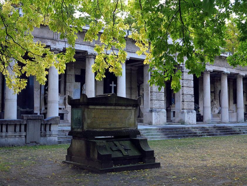 Kerepesi temető (Kerepescher Friedhof), 1847 eröffnet