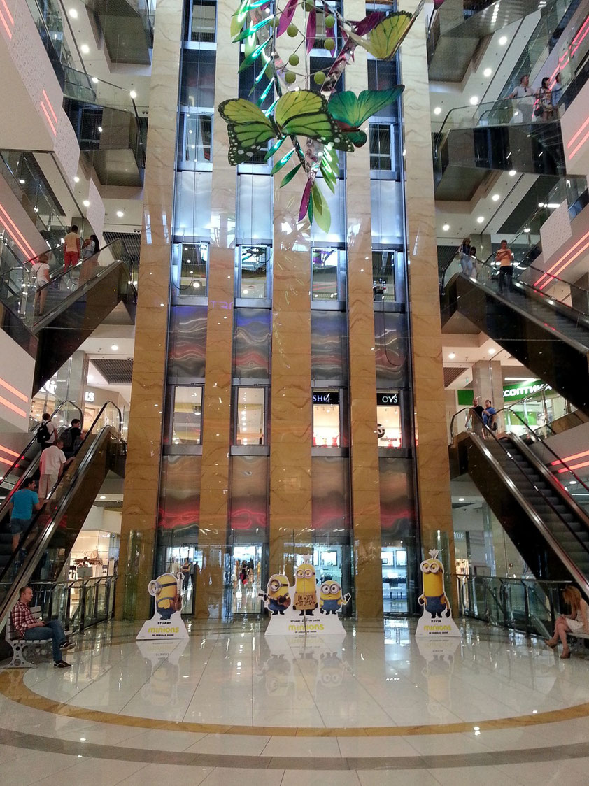 Gulliver Shopping Mall, Baubeginn 2003, Eröffnung 2012