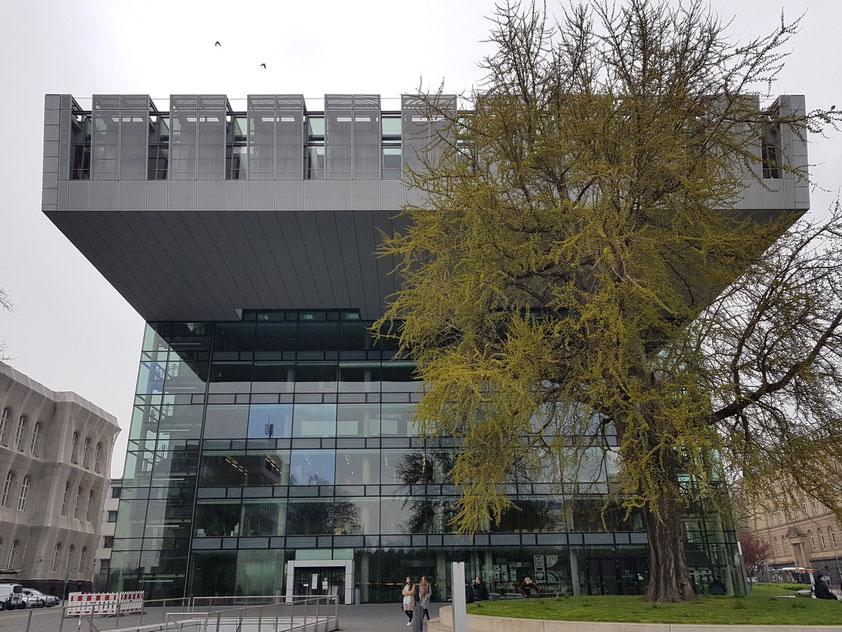 RWTH Aachen, SuperC, das Service-Zentrum (19.4.2021)