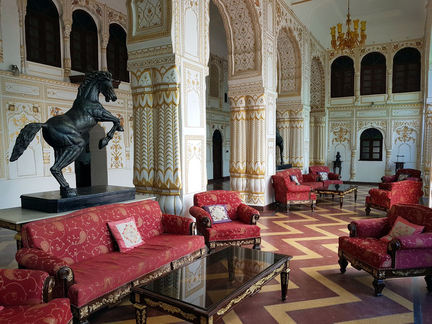 Heritage Hotel Surajgarh Fort, Eingangshalle