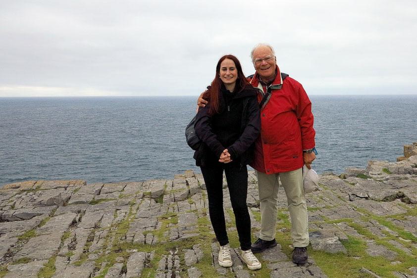 Aran Inseln. Auf den Klippen der prähistorischen Festung Dún Aonghasa (Foto: Tilmann Vogt)