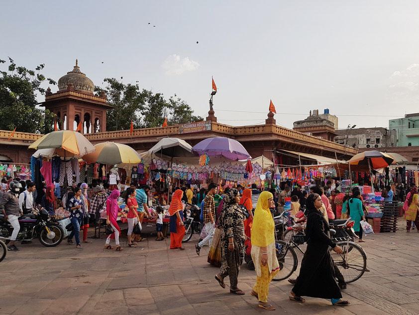 Sadar-Markt in Jodhpur