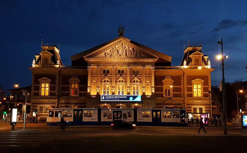 Concertgebouw nach dem Konzert