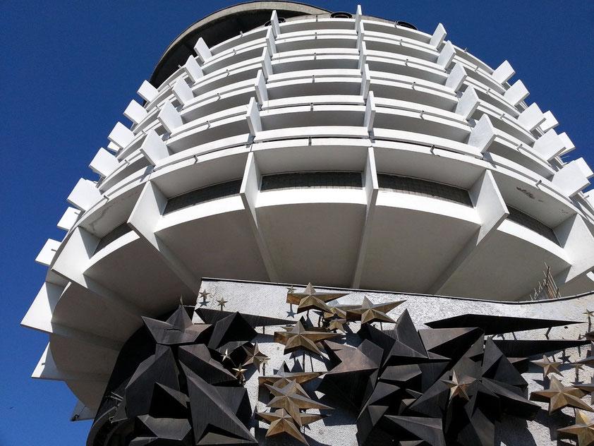 Hotel Salute, Kunst am Bau