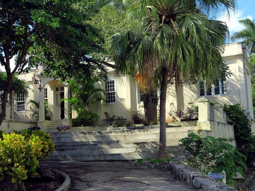 Finca Vigía von Ernest Hemingway, Eingang