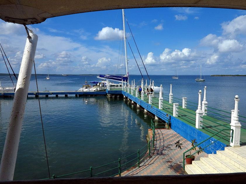 Yachthafen von Cienfuegos an der Bahía de Jagua