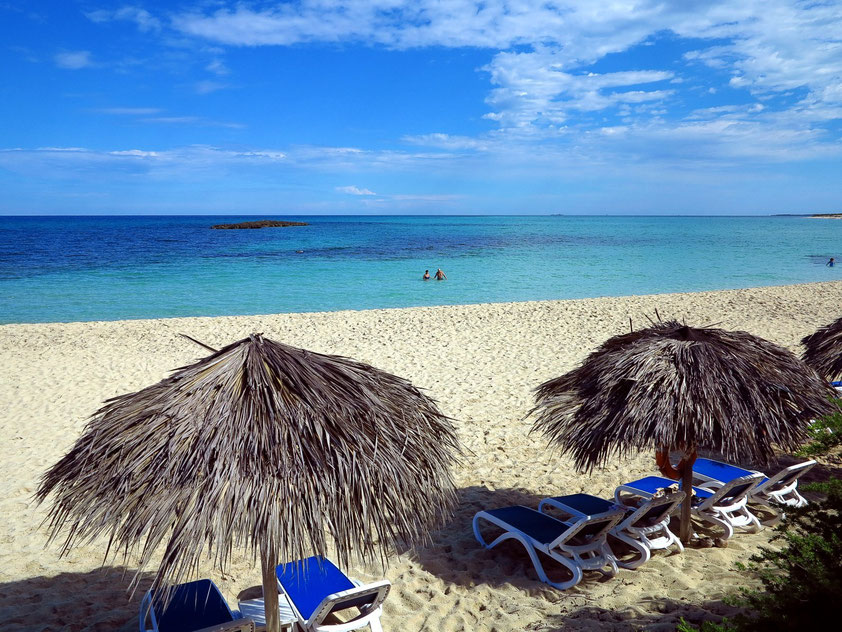"Playa Canon. Meerblick von der Strandbar ""La Duna"""
