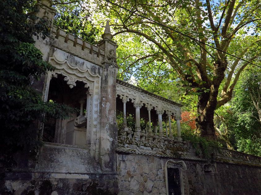 Der Park von Quinta da Regaleira
