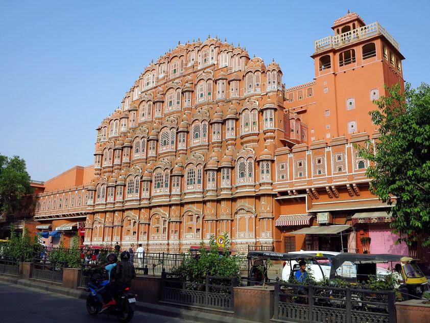"Jaipur, Hawa Mahal ""Palast der Winde"""