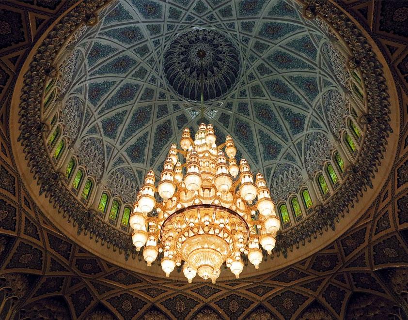 Große Sultan-Qabus-Moschee in Maskat