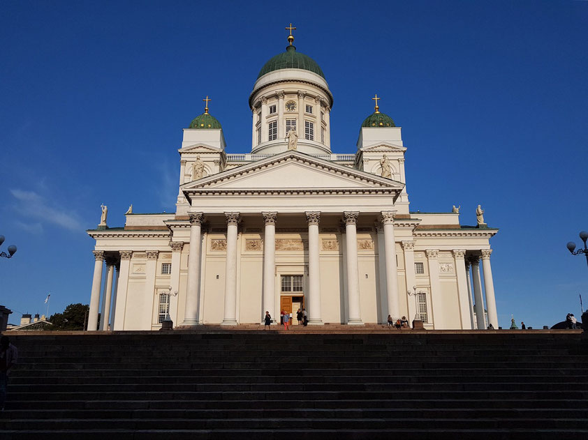 Dom zu Helsinki, von Westen gesehen