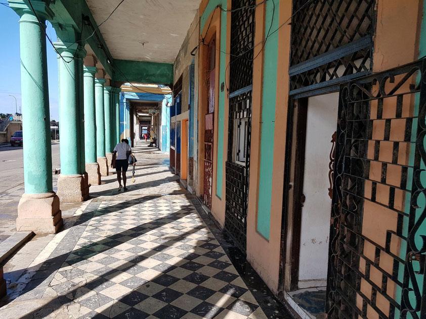 Calle Padre Varela östl. des Krankenhauses