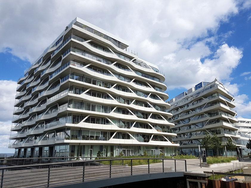Aarhus. Neue Wohnhäuser westlich von Isbjerget