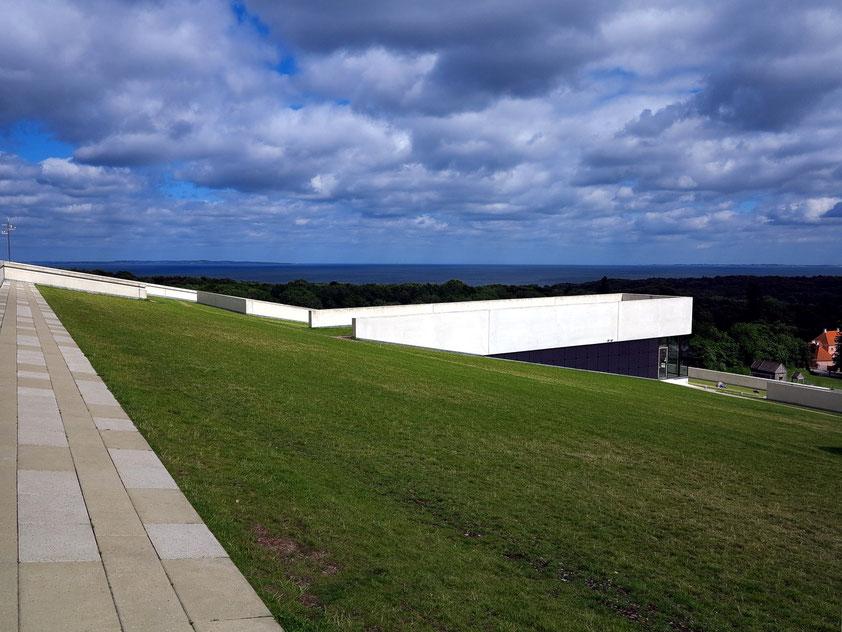 Moesgaard Museum MOMU, Blick vom Dach nach Osten zum Meer