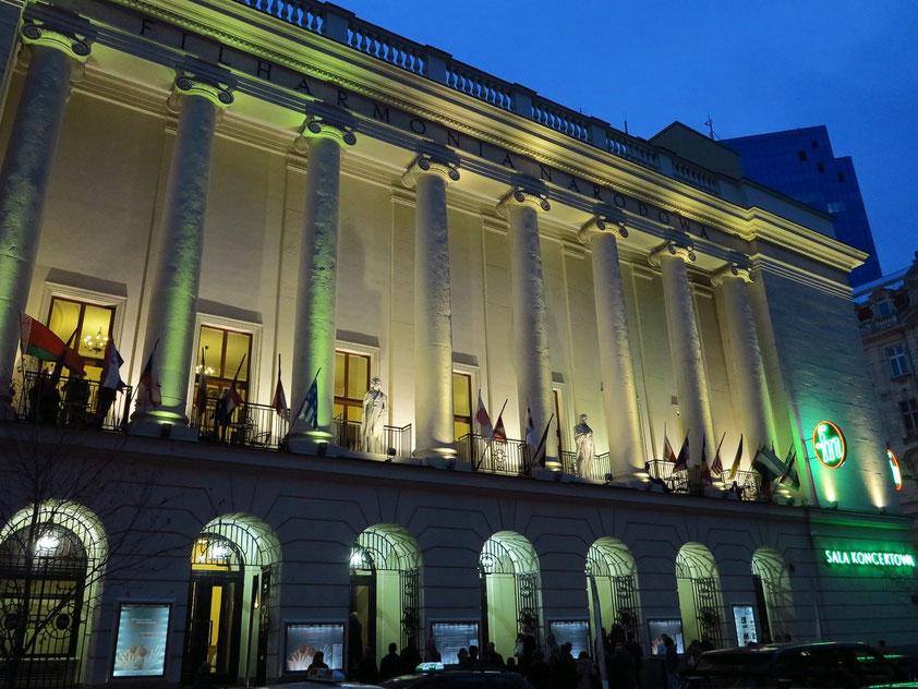 Nationalphilharmonie Warschau (poln. Filharmonia Narodowa)