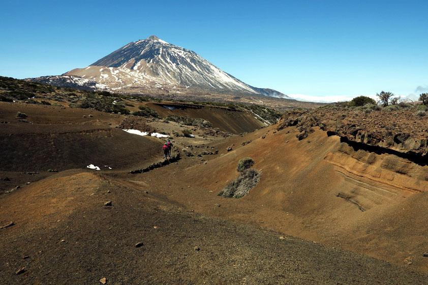 Auf dem Wanderweg Nr. 2, Pico del Teide, 3 718 m