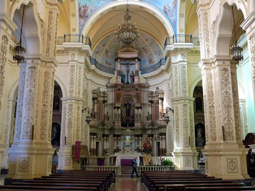 Kirchenschiff der Iglesia de San Francisco el Nuevo o de San Agustín