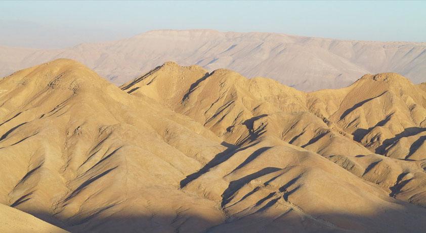 Wüstenlandschaft nordwestlich von Tacna