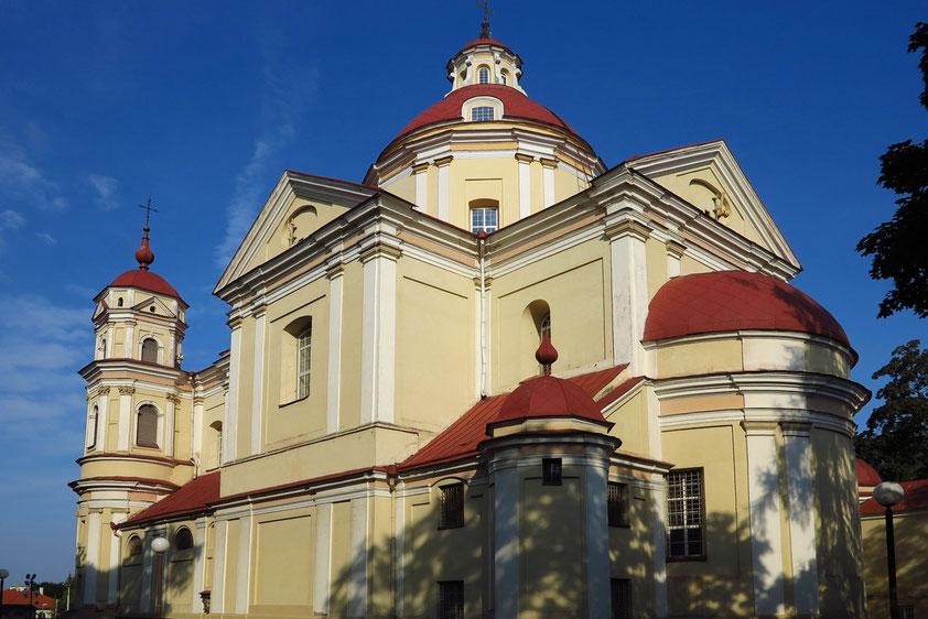 Barocke Peter-und-Paul-Kirche östlich der Altstadt, 1668-1685, mit reicher Innenausstattung