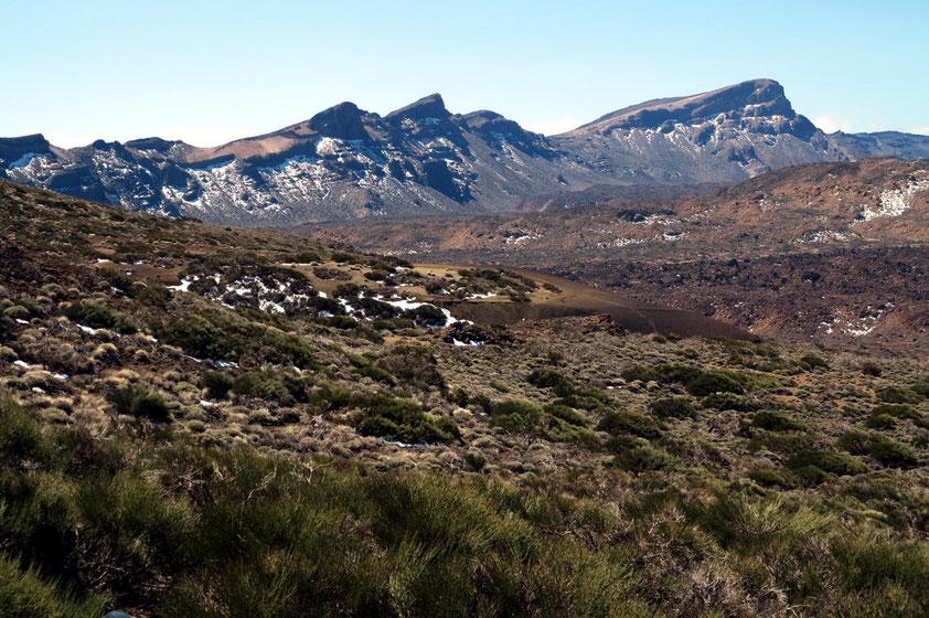 Randberge der Canadas mit Guajara, 2 718 m (rechts)