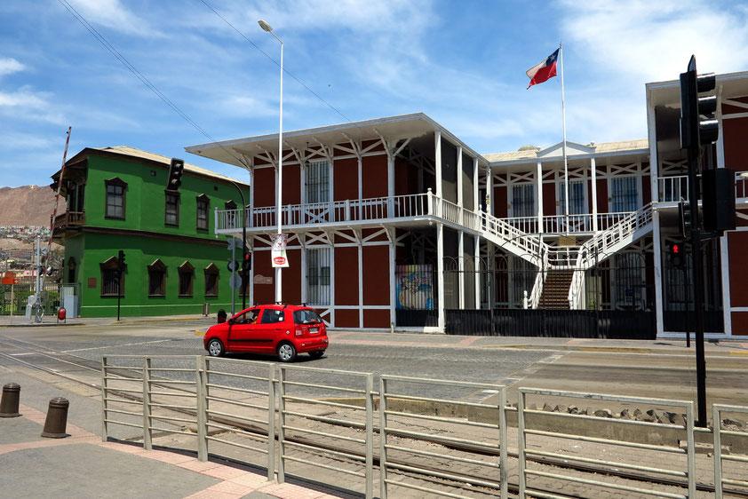 Im historischen Teil von Antofagasta