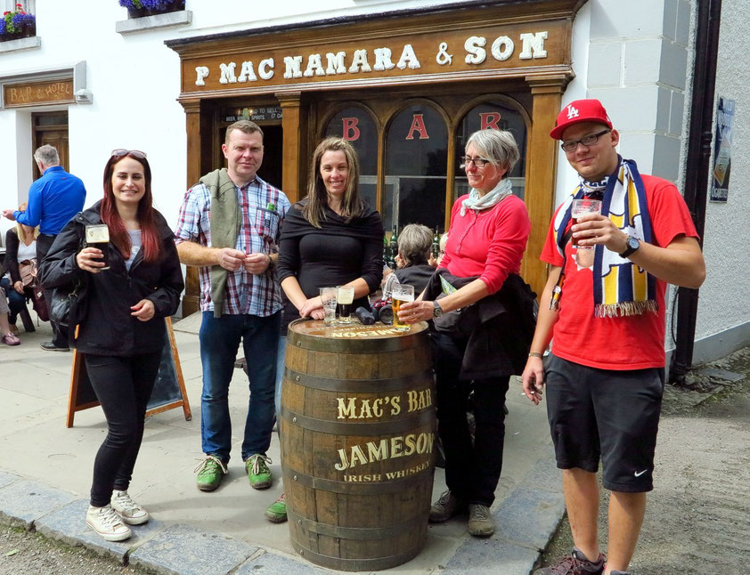 Guinness-Pause im Bunratty Folkpark