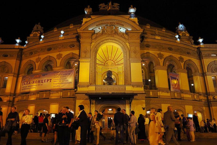 Nach dem Gala-Konzert vor der Oper