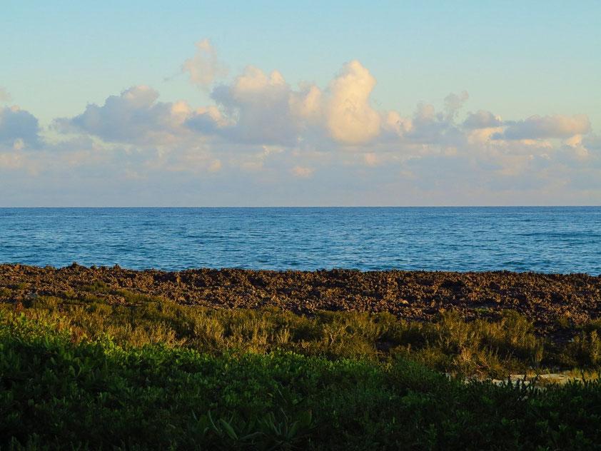 Blick aus der Junior-Suite 2012 zum Meer