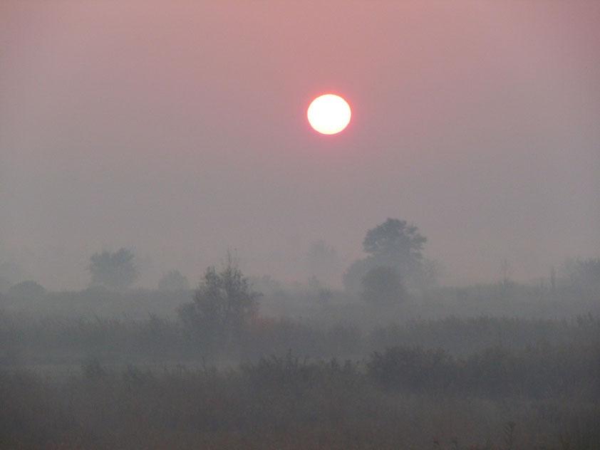 Sonnenaufgang in Pamukkale